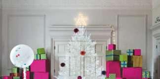 Árbol de Navidad - Proyección artística
