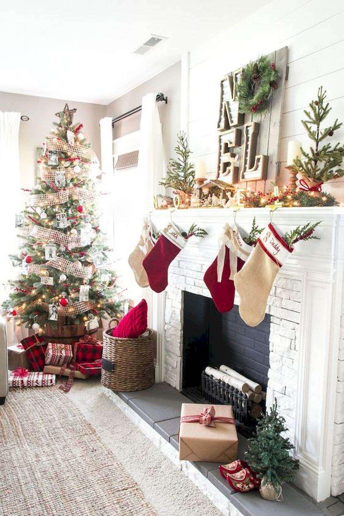 decoración de Navidad - chimeneas