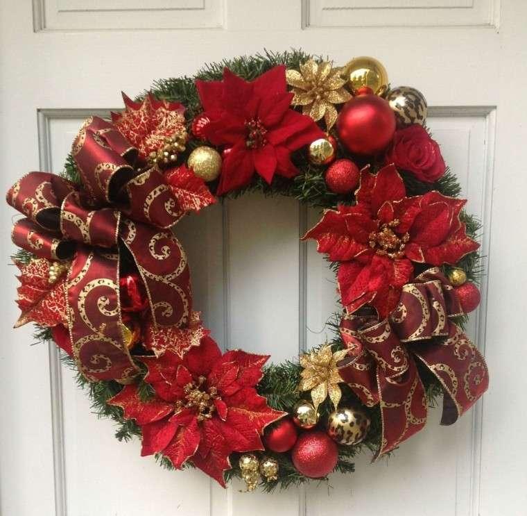 decoración de Navidad - guirnalda roja