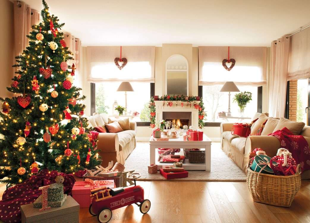 decoración de Navidad - colores