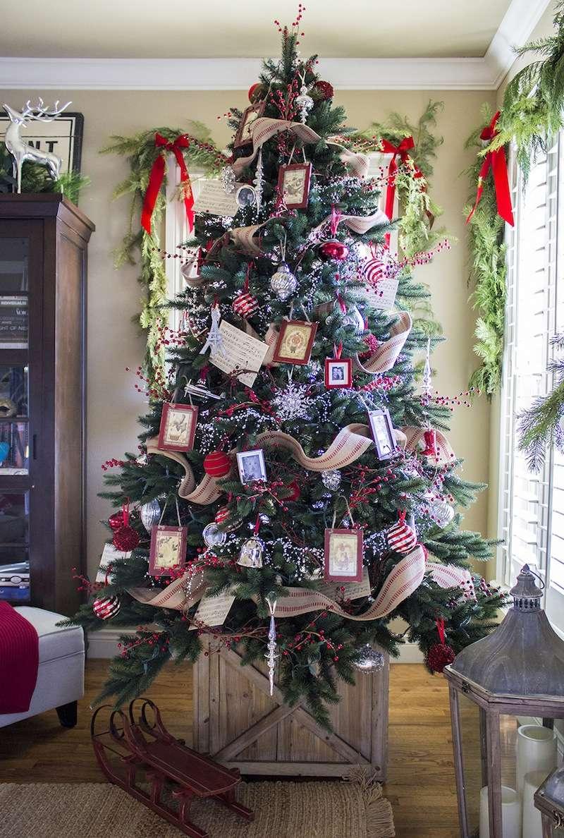 árbol de Navidad tradicional