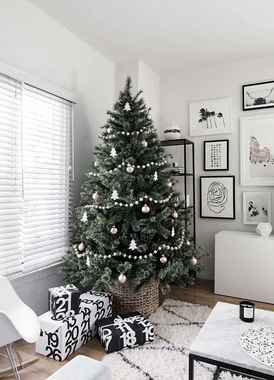 árbol de Navidad nórdico