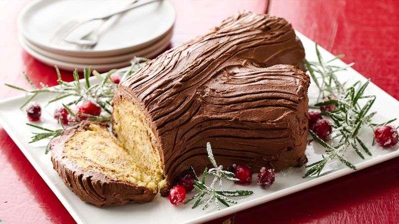 Platos de cocina - Bûche de Noël