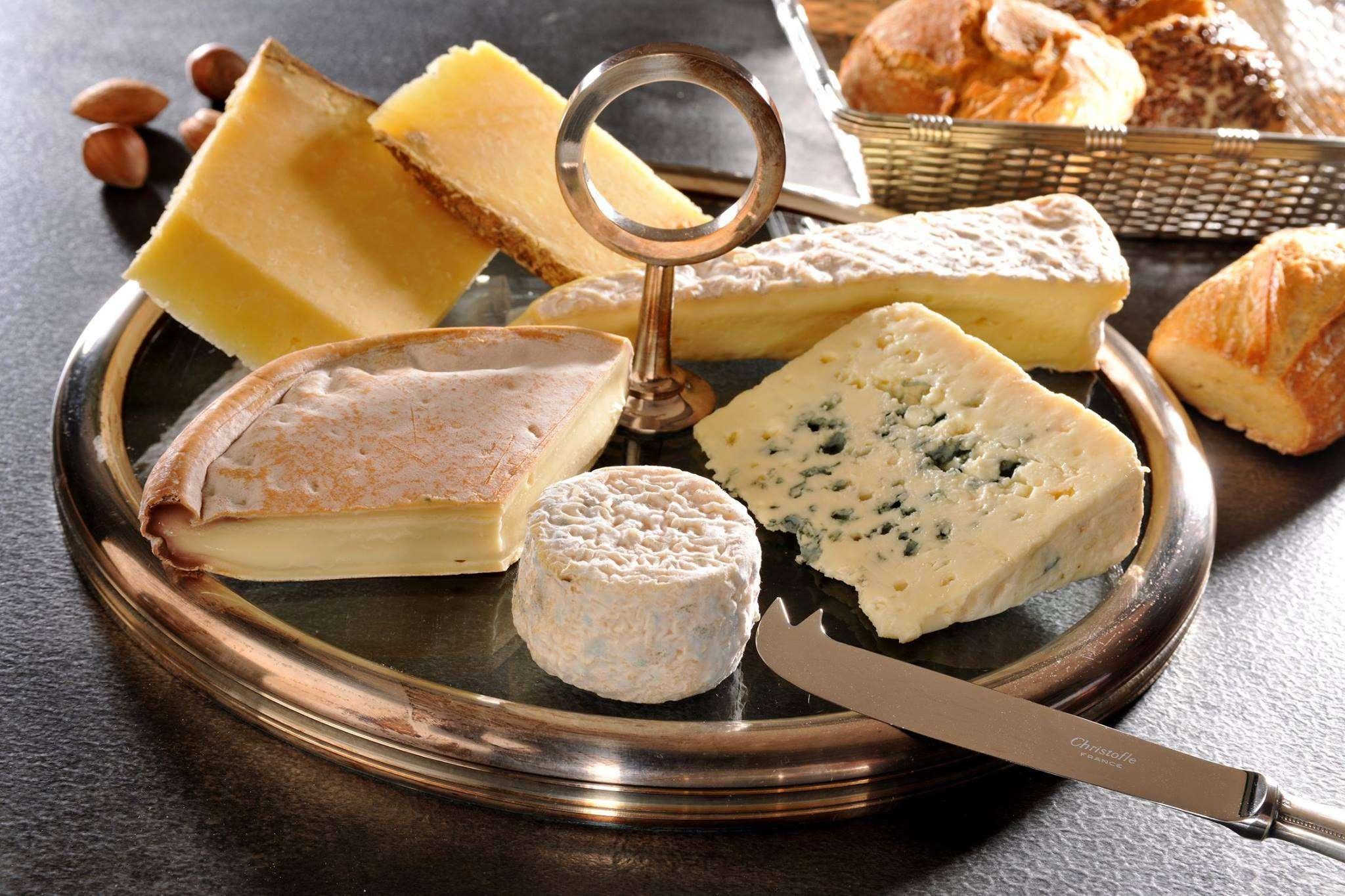 Platos de cocina - tabla quesos