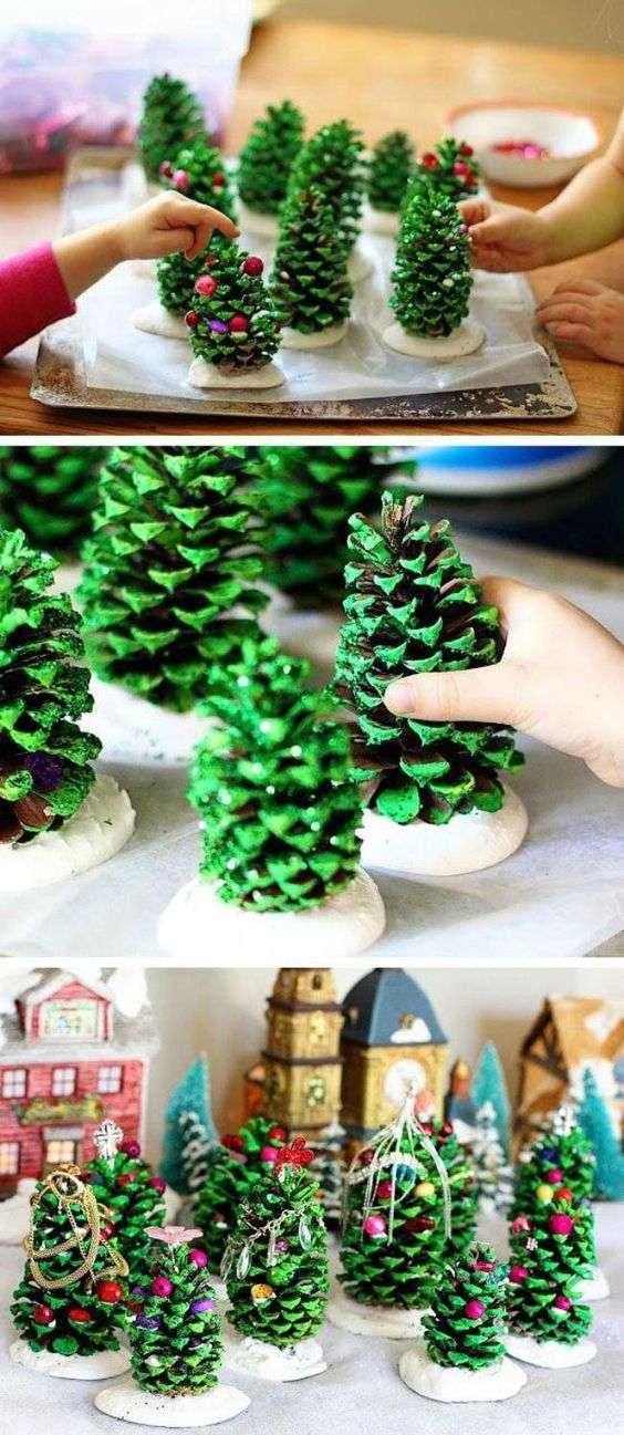 adornos de Navidad con ninos VII