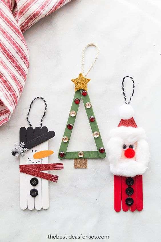 adornos de Navidad con ninos