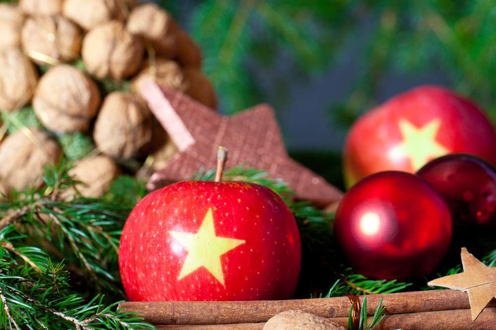 Decoración navideña - simbolos buena suerte