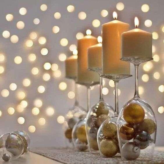 decorar la mesa en nochevieja V