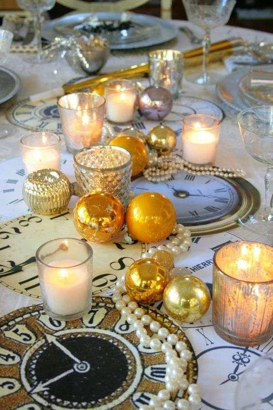 decorar la mesa en nochevieja VII