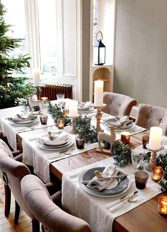 decorar la mesa en nochevieja VIII