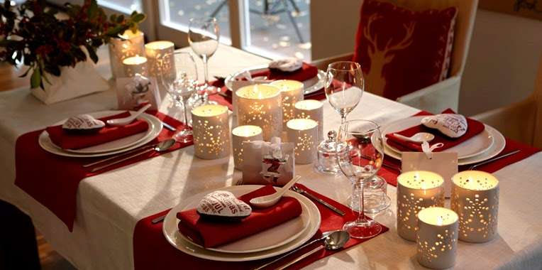 decorar la mesa en nochevieja XI