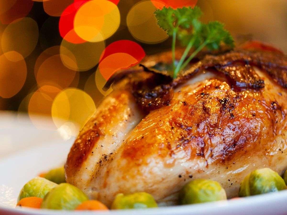 Cocina navideña - pavo