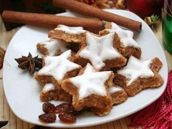 Cocina navideña - Zimtsterne