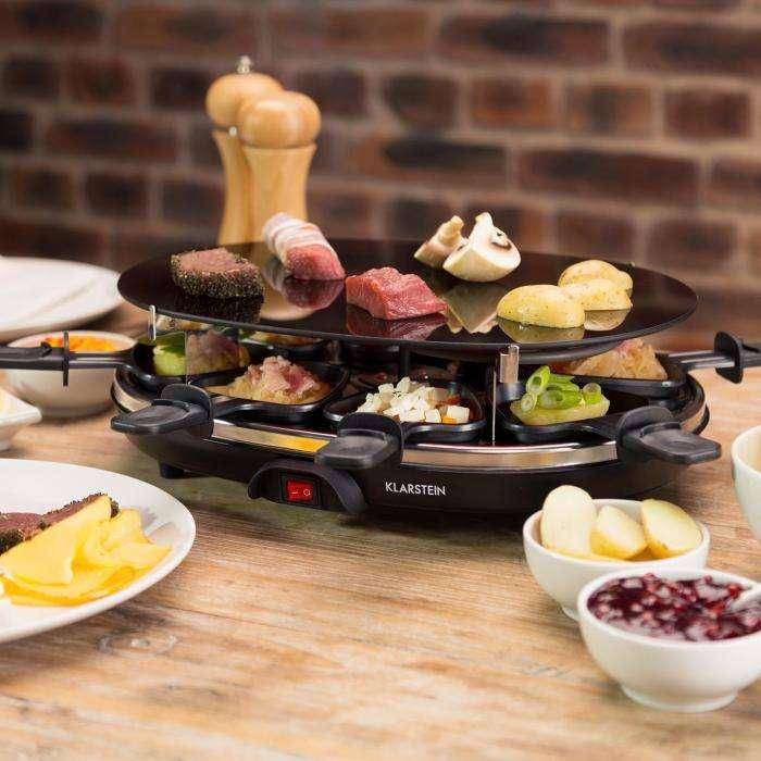 Cocina navideña - raclette