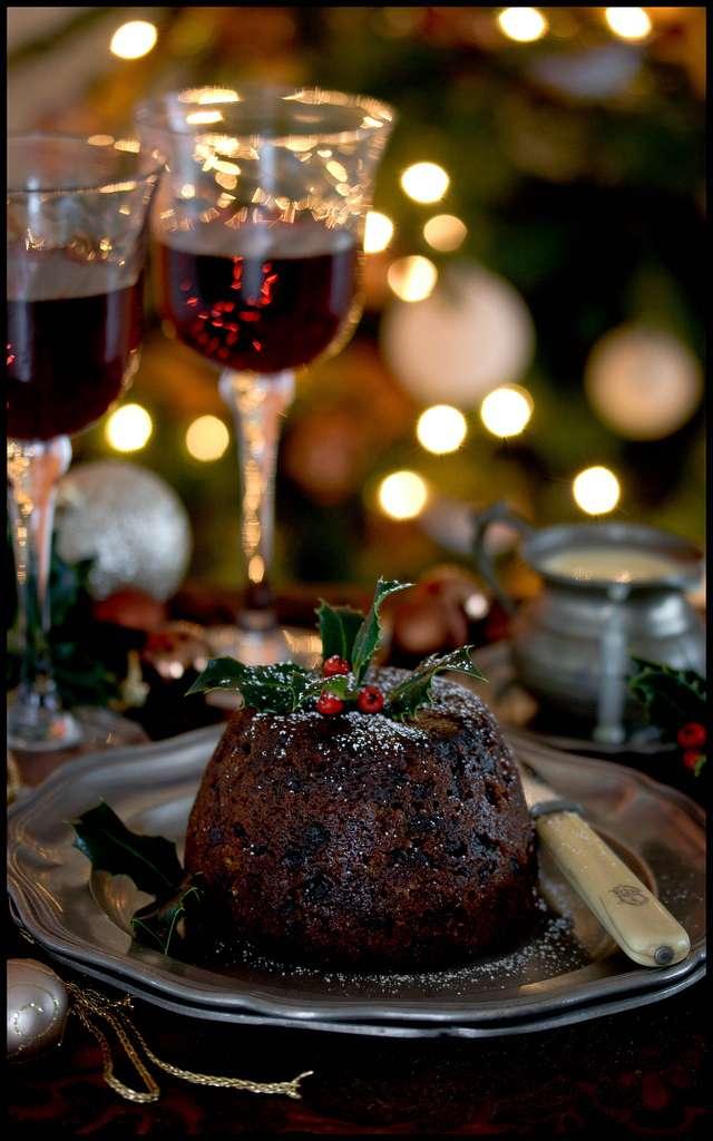 Cocina navideña - Pudin de Navidad