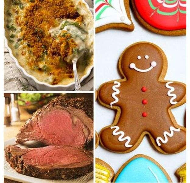 Cocina navideña de Estados Unuidos