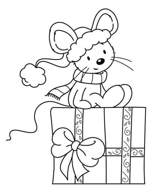 dibujos de Navidad II