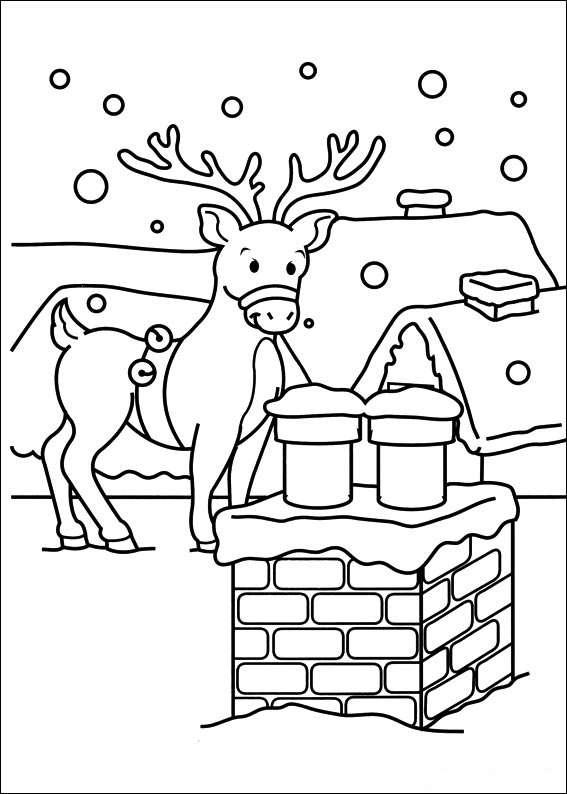 dibujos de Navidad IV
