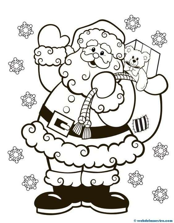 dibujos de Navidad VII