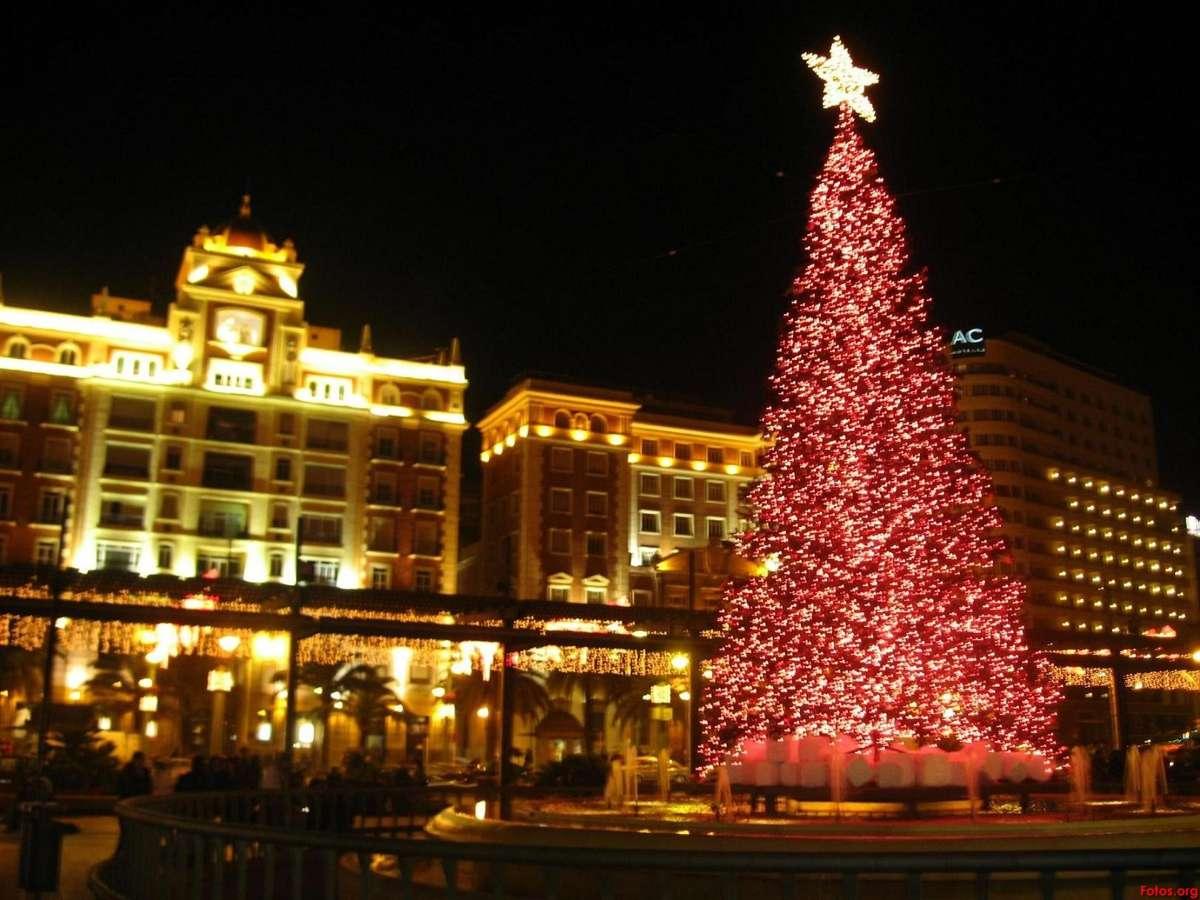 Navidad - árbol rojo