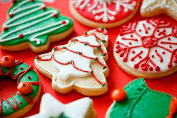 Galletas de Navidad - árboles