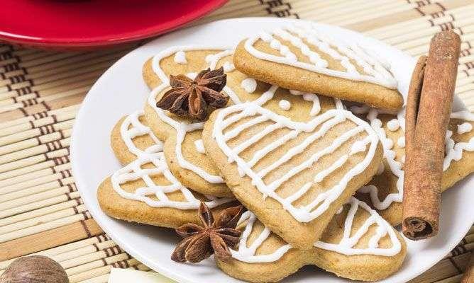 Galletas de Navidad de glasa