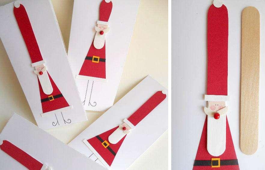 manualidades navideñas de Papá Noel