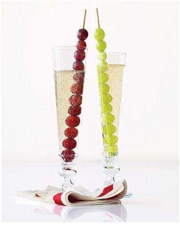 servir las uvas en nochevieja II