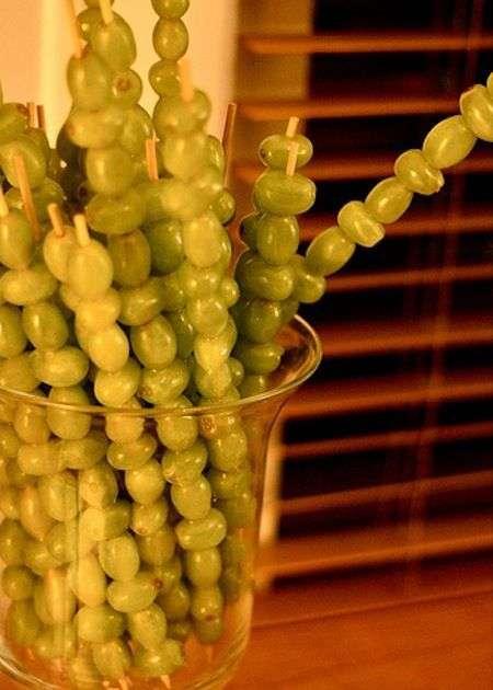 servir las uvas en nochevieja III