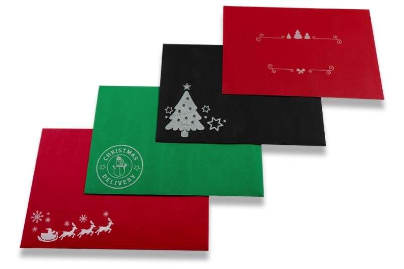 Tipos de sobres de Navidad que podemos utilizar para felicitar las fiestas 1