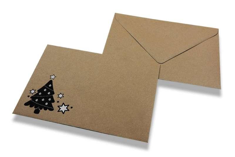 Tipos de sobres de Navidad que podemos utilizar para felicitar las fiestas 2