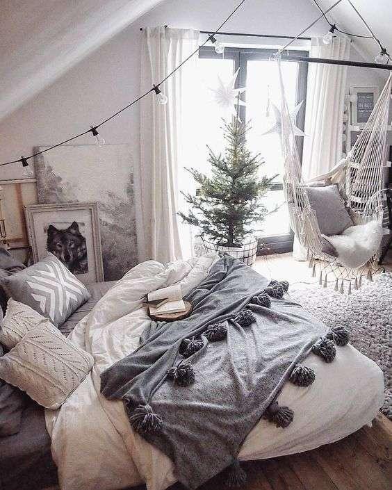 dormitorio de Navidad X