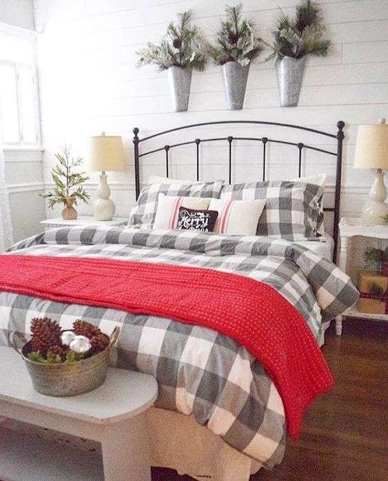 dormitorio de Navidad