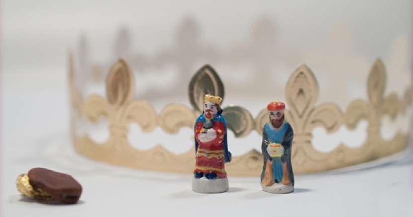 Roscón de Reyes - haba