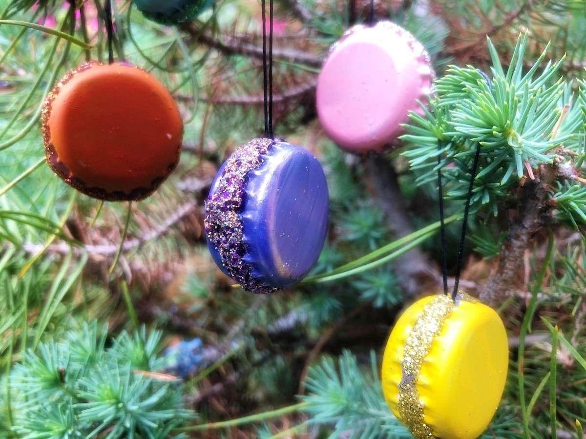 6 Adornos navideños con materiales reciclados 6