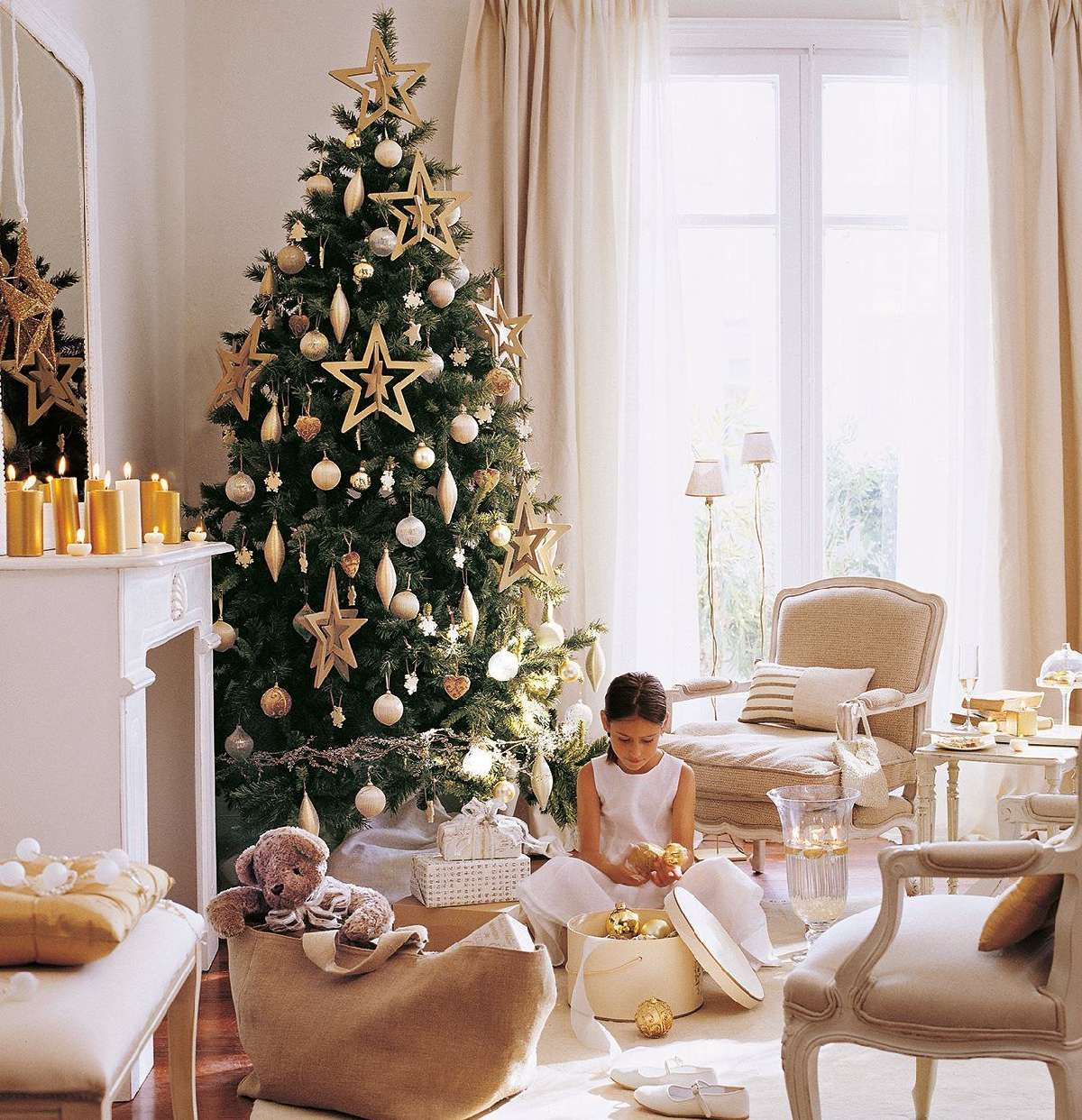 Sorprendentes ideas para decorar el árbol de Navidad 11