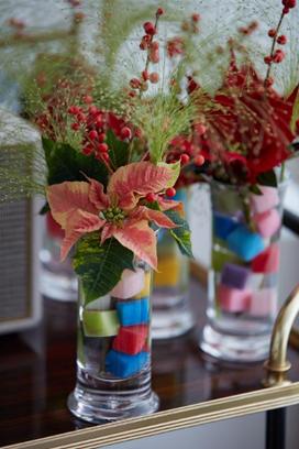 Decora tu hogar en Navidad con estas manualidades con poinsettias 2