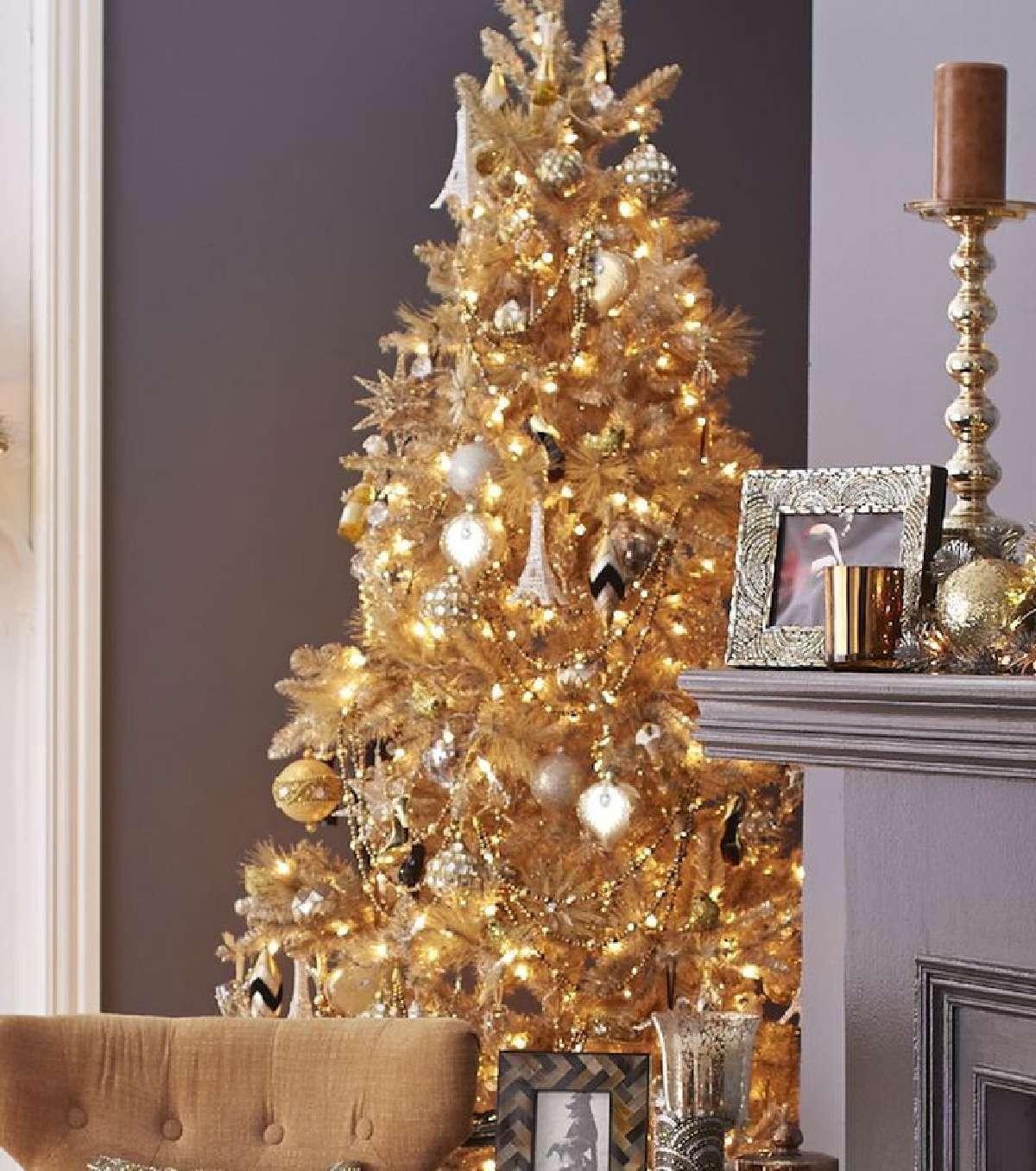 Sorprendentes ideas para decorar el árbol de Navidad 5
