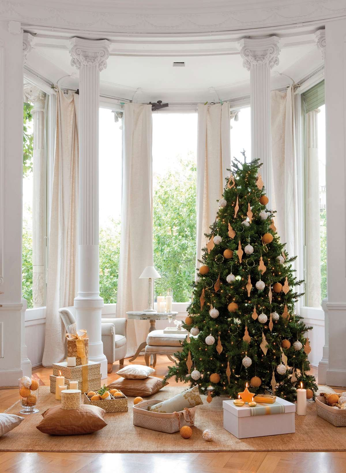 Sorprendentes ideas para decorar el árbol de Navidad 12