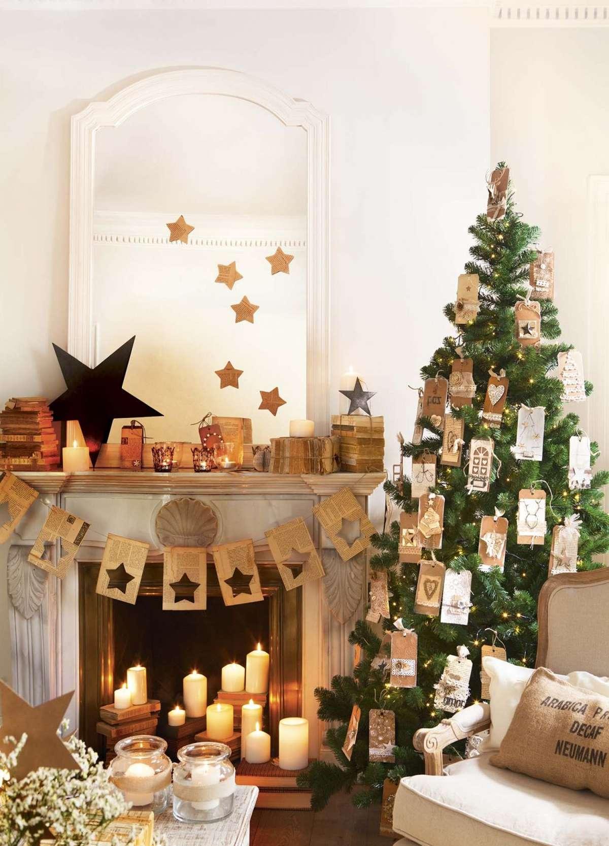 Sorprendentes ideas para decorar el árbol de Navidad 9