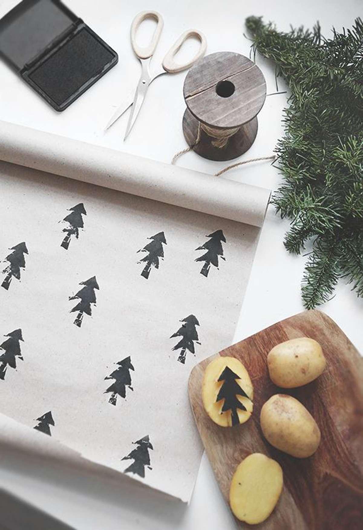 Originales ideas para decorar y envolver los regalos navideños 8