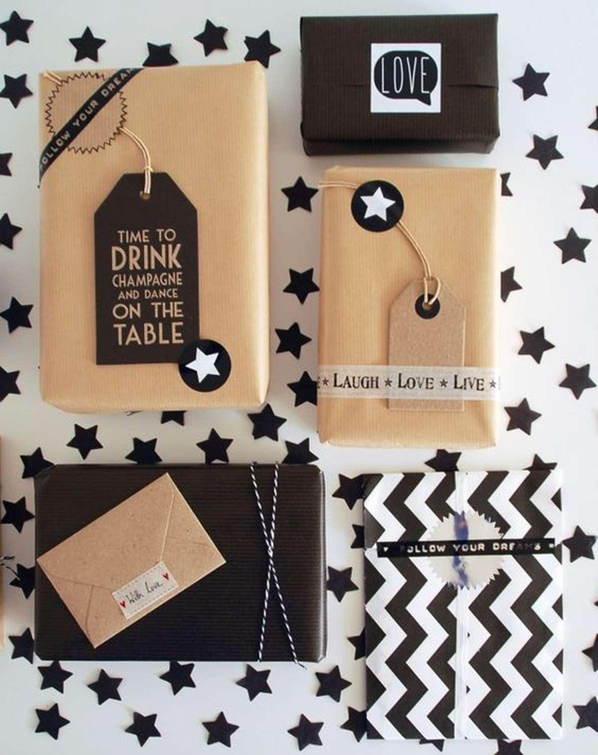 Originales ideas para decorar y envolver los regalos navideños 5