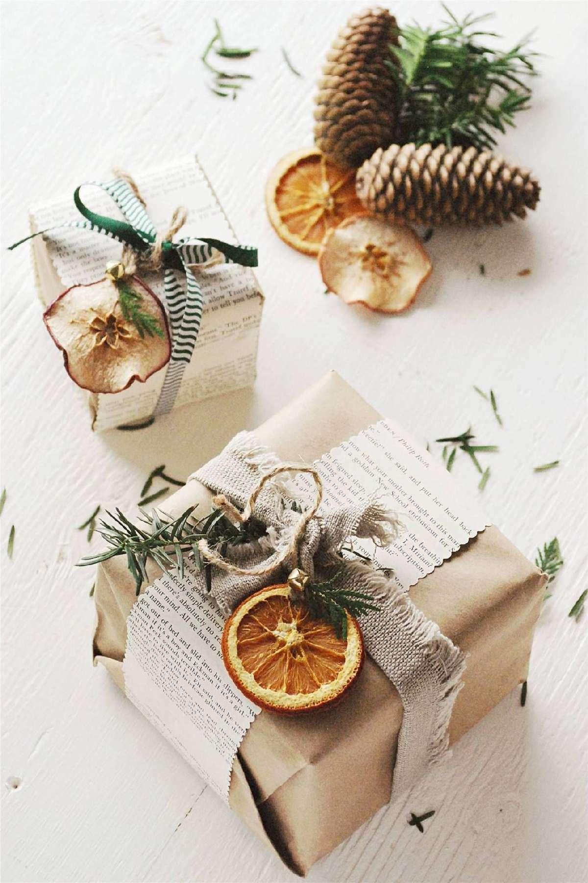 Originales ideas para decorar y envolver los regalos navideños 9