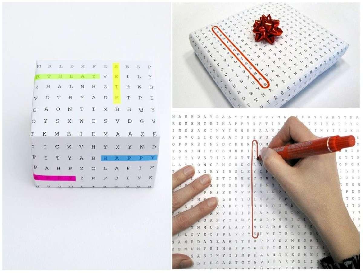 Originales ideas para decorar y envolver los regalos navideños 13