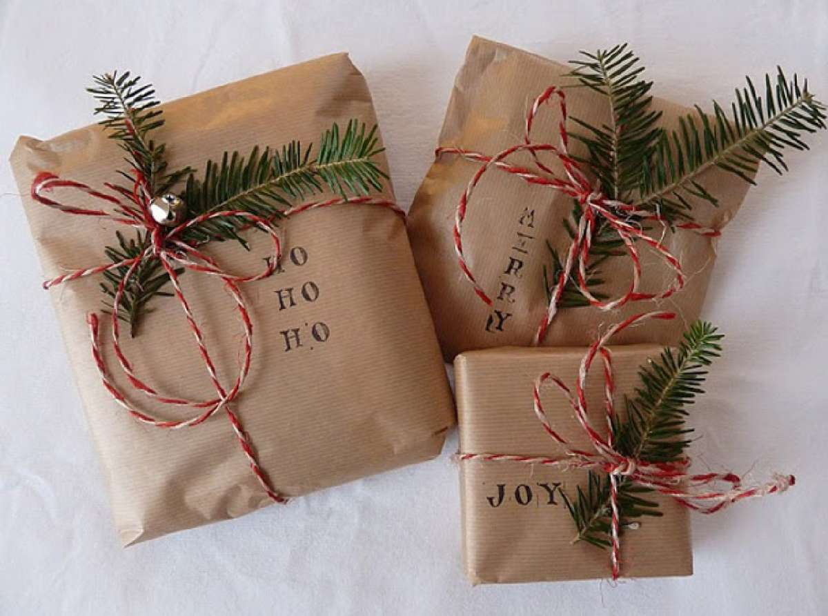 Originales ideas para decorar y envolver los regalos navideños 1