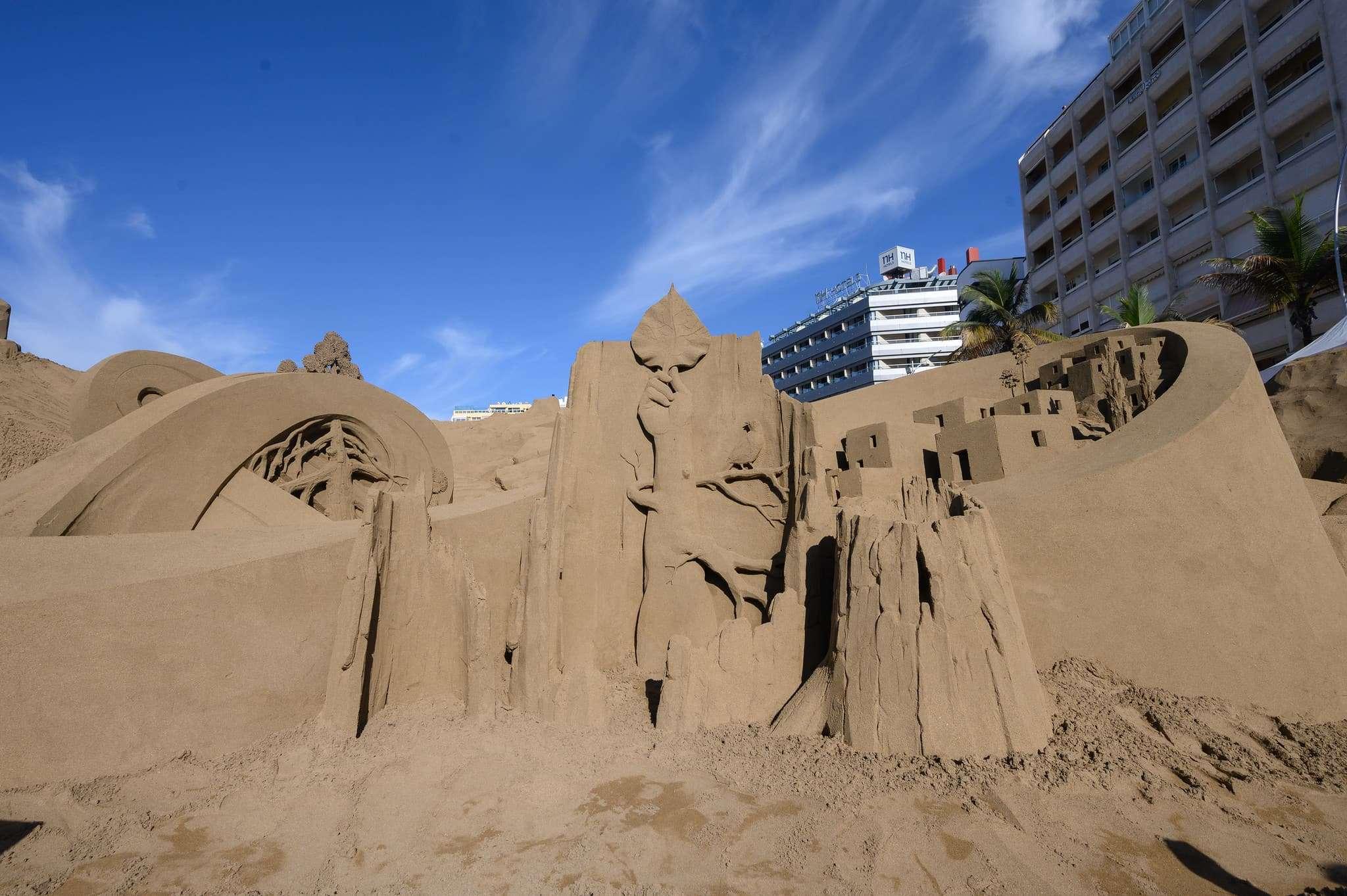 Un original Belén de arena para la navidad en Gran Canaria 69