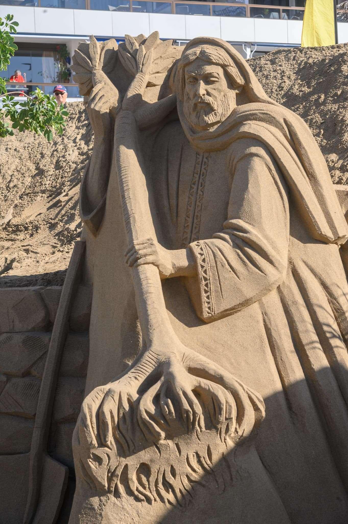 Un original Belén de arena para la navidad en Gran Canaria 73
