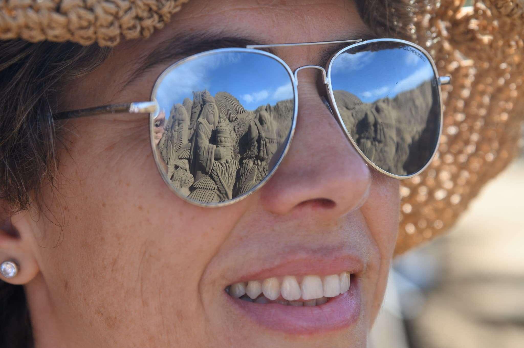 Un original Belén de arena para la navidad en Gran Canaria 74