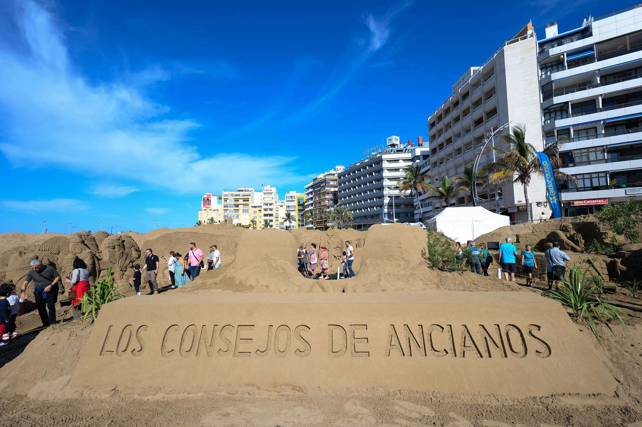 Un original Belén de arena para la navidad en Gran Canaria 76