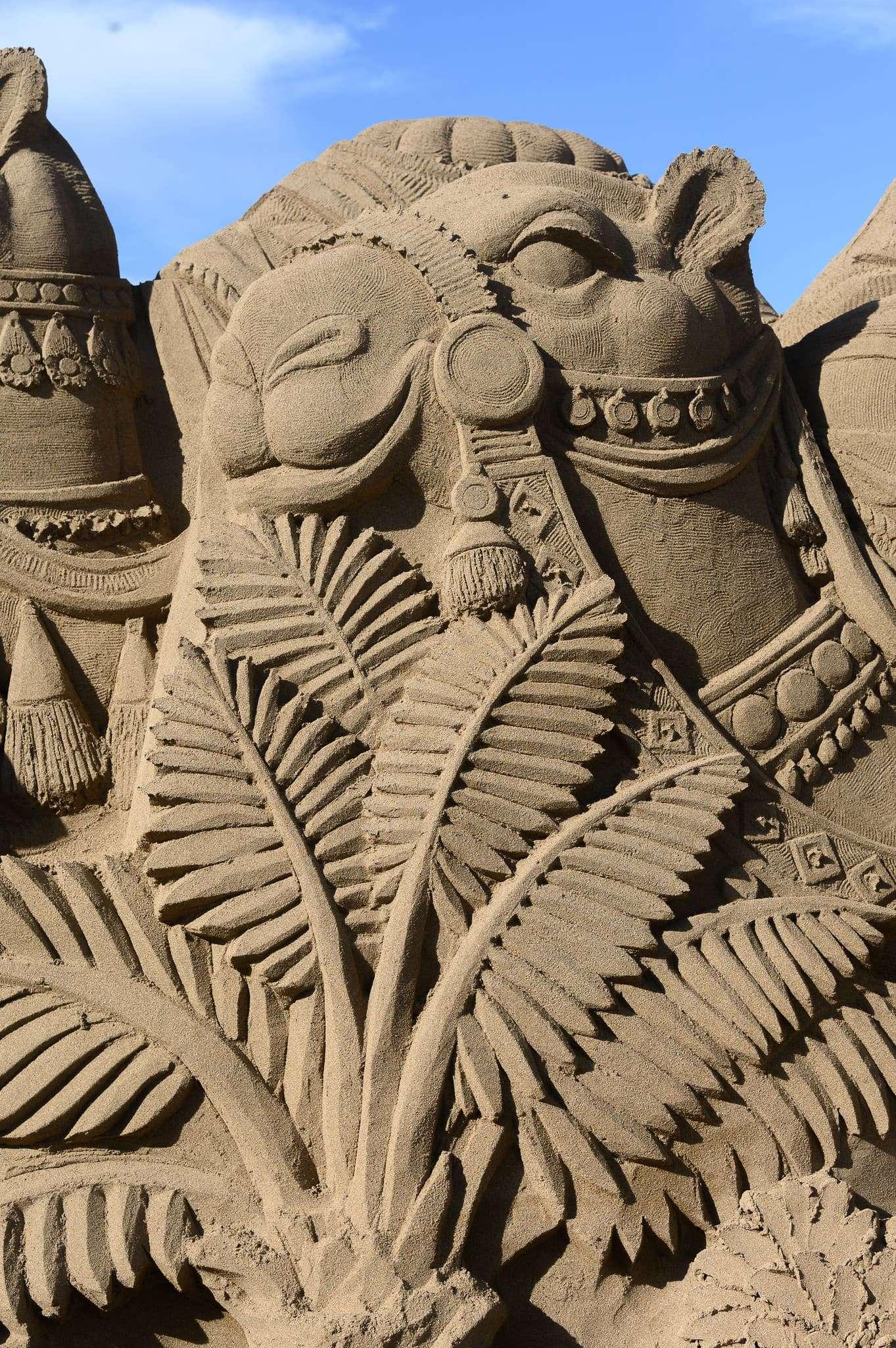 Un original Belén de arena para la navidad en Gran Canaria 79